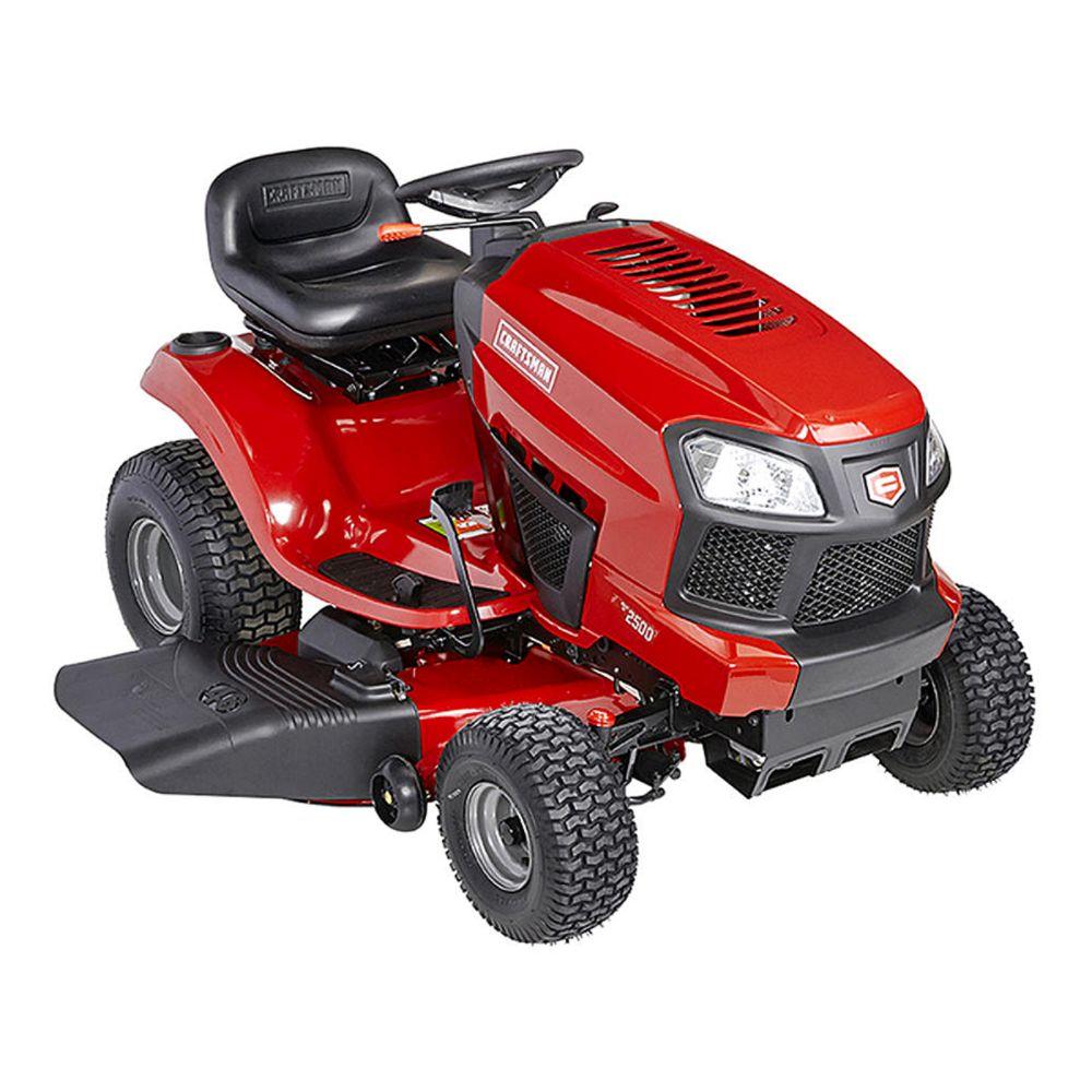 Craftsman 19 HP Fast Auto TurnTight Riding Mower