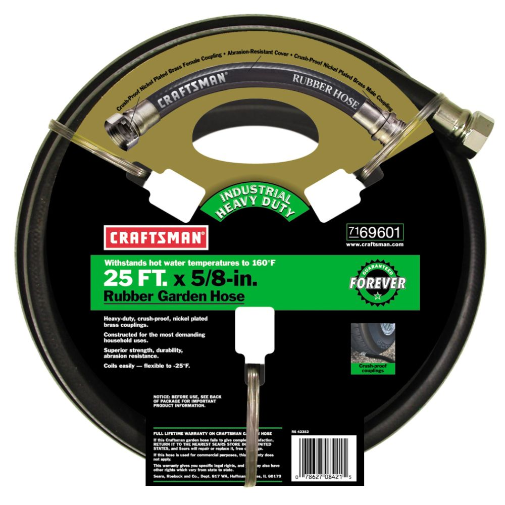 Hose | Sears.com | Plus Rubber Or Vinyl Garden Hose, and Craftsman
