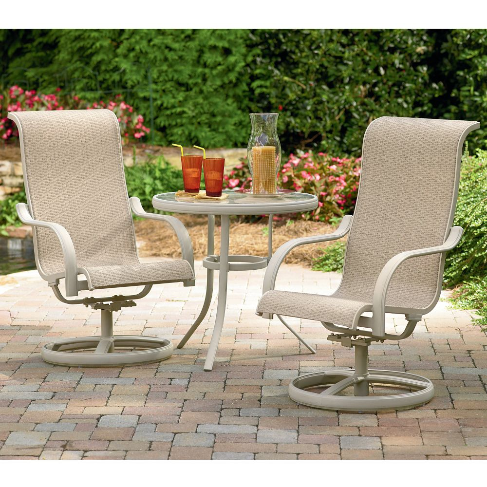 Patio Discount on Garden Oasis Clayton 3 Piece Patio Bistro Set  Reviews   Mysears