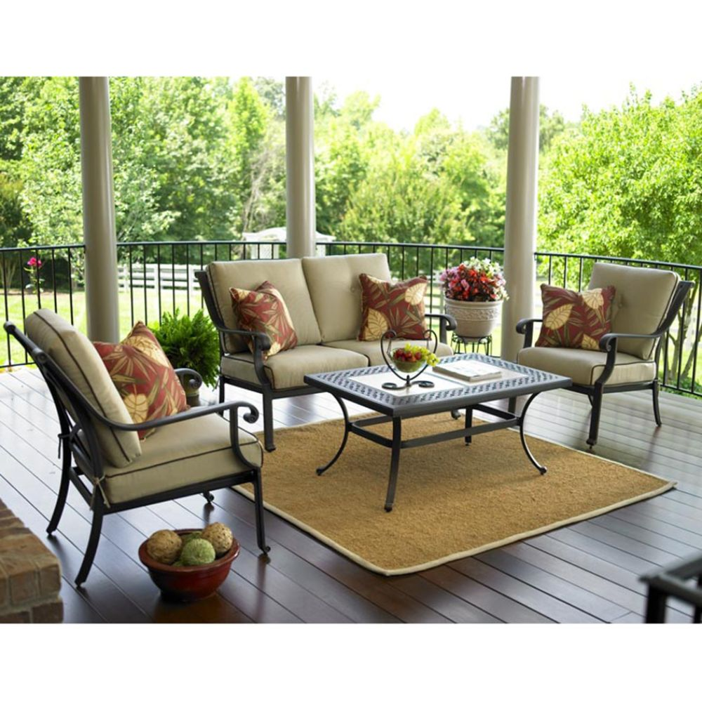 Garden Oasis Thomas 4 Pc Casual Seating Set