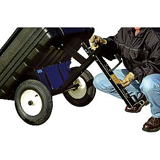 Pull poly cart craftsman lawn garden tractor attachments carts on popscreen for Craftsman garden tractor attachments