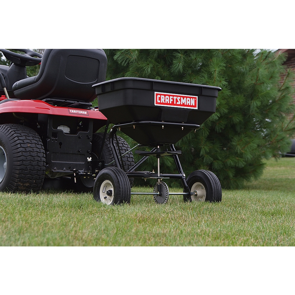 Craftsman lawn garden tractor attachments sprayers spreaders for Craftsman garden tractor attachments