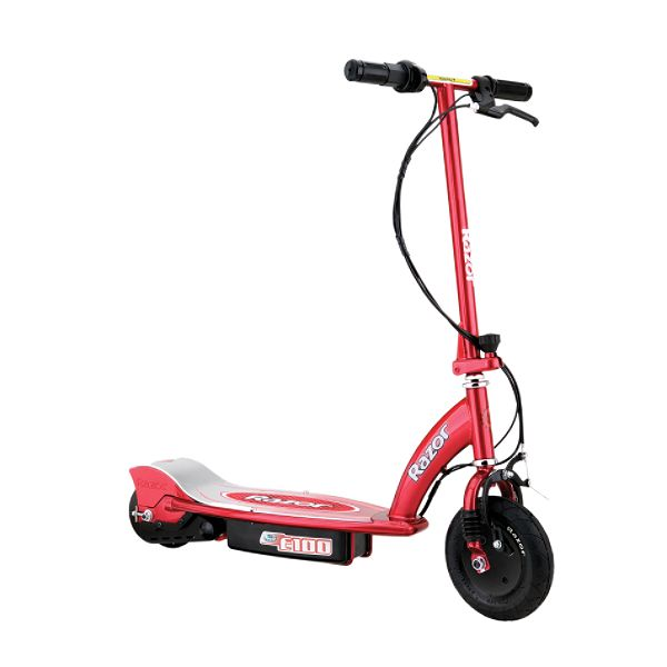Razor E100 Electric Scooter Red