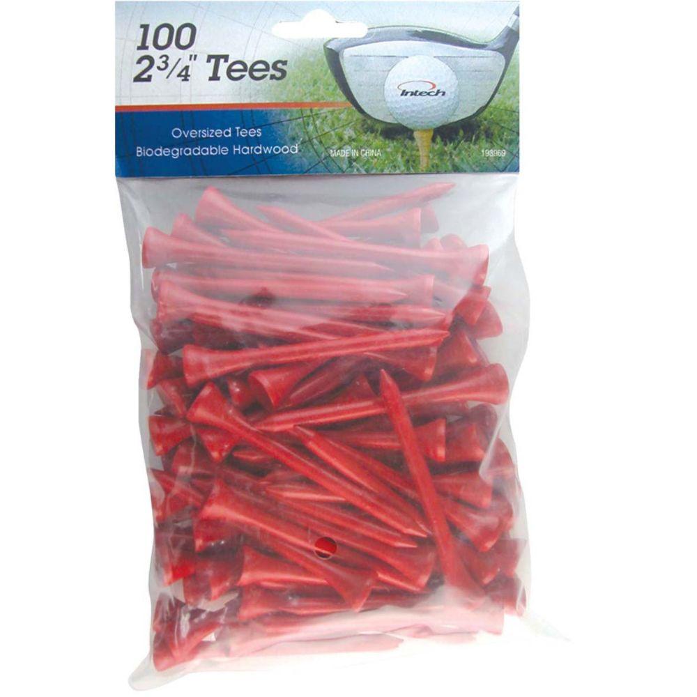 Knight GOLF 2 3/4 Red 100 Pack Golf Tees - Knight GOLF (080W478963110001 I98969) photo