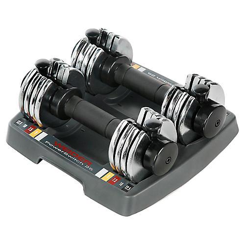 Weider Power Switch Adjustable Hand Weights