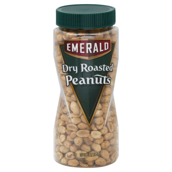 Emerald Peanuts Dry Roasted 16 oz 454 g DIAMOND WALNUT GROWERS INC
