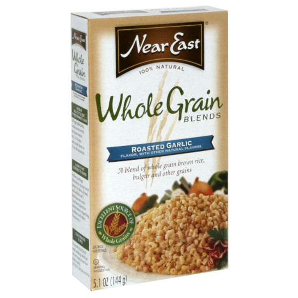 Near East Whole Grain Blends Brown Rice Roasted Garlic Flavor 5.1