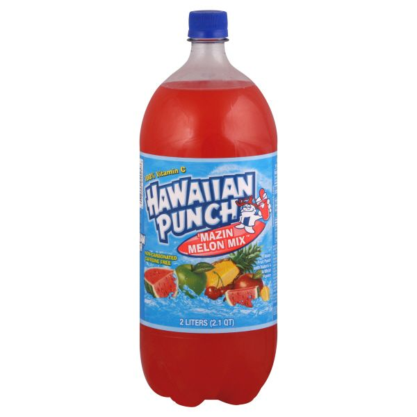 how to make punch with hawaiian punch