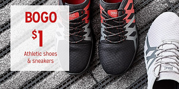 BOGO $1 Athletic shoes & sneakers & BOGO 50% off Women's & kids' fashion boots | 9.23-10.6