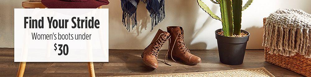 Women's Boots Under $30