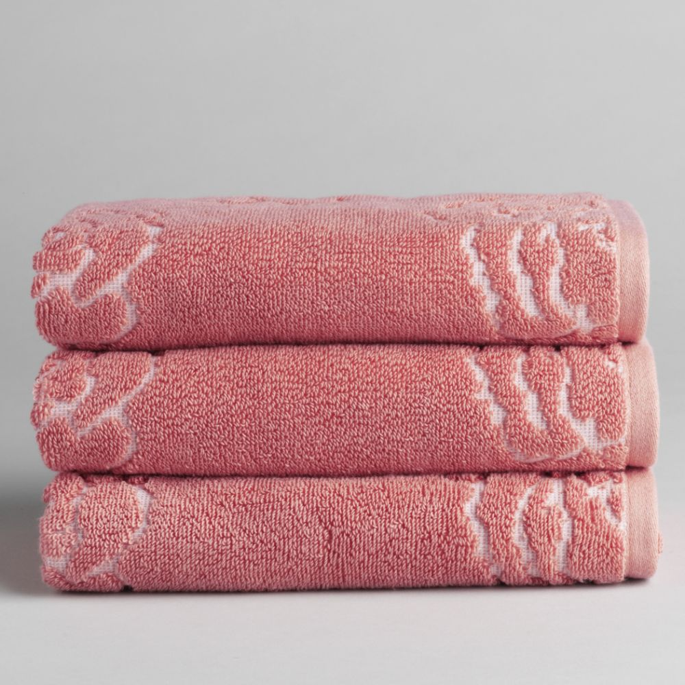 Egyptian Cotton Sculpted Bath Towel
