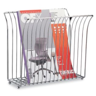 Organize It All Wide Top Magazine Rack - Bed & Bath - Shower ...