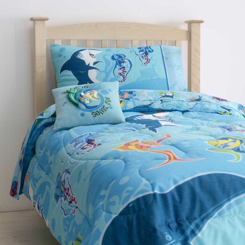 Shark Tale Sheet Set Bed Amp Bath Kids Bedding Various