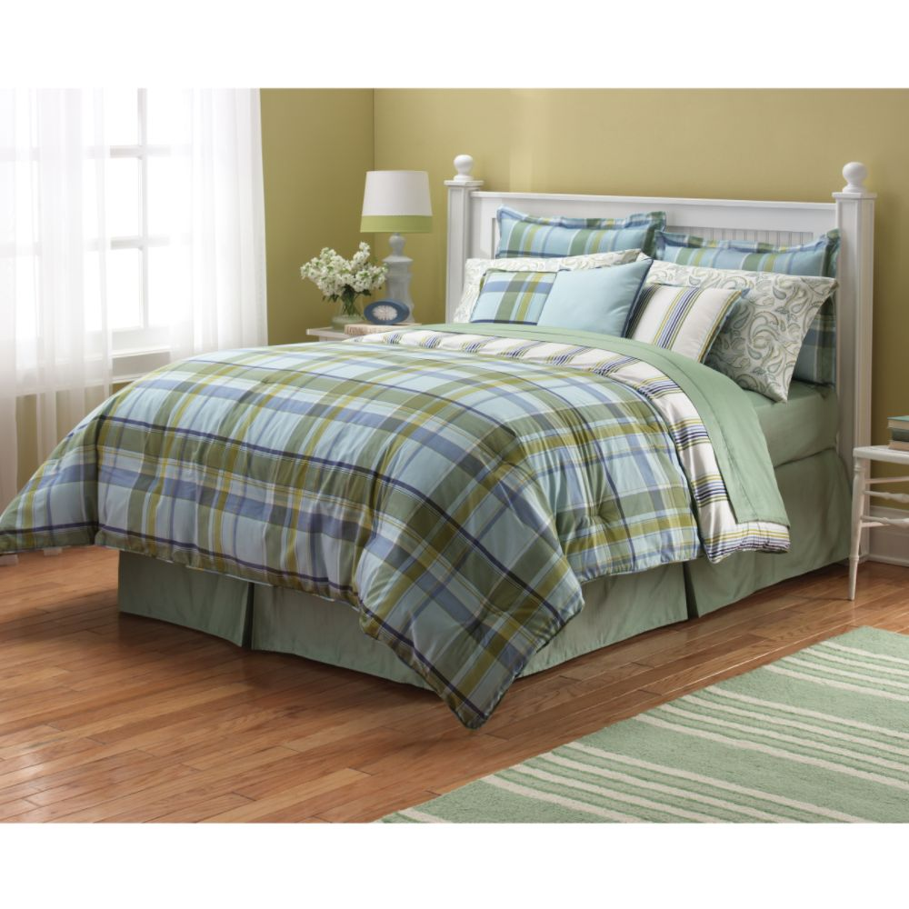 Blue Comforter on Colormate Blue Plaid Comforter Reviews   Mysears Community