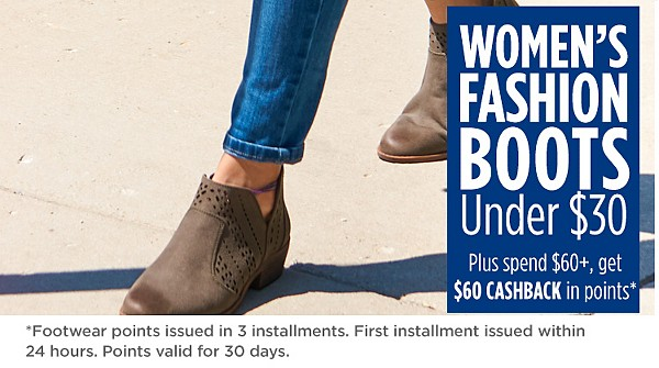 Fall fashion boots under $30
