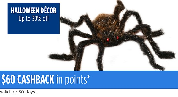 Up to 30% off Halloween decor