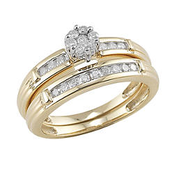 yellow gold - Sears Wedding Rings