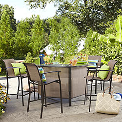 Bar Sets : table and chair patio set - pezcame.com