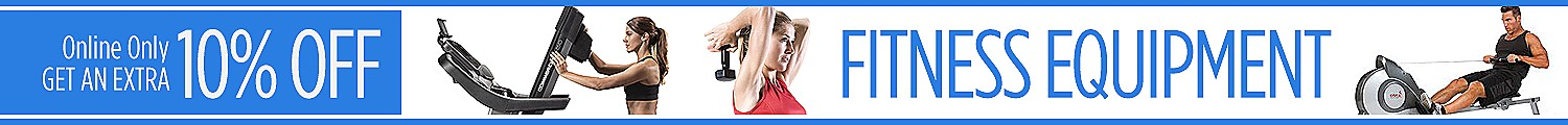 Online Only | Get an Extra 10% off Fitness Equipment