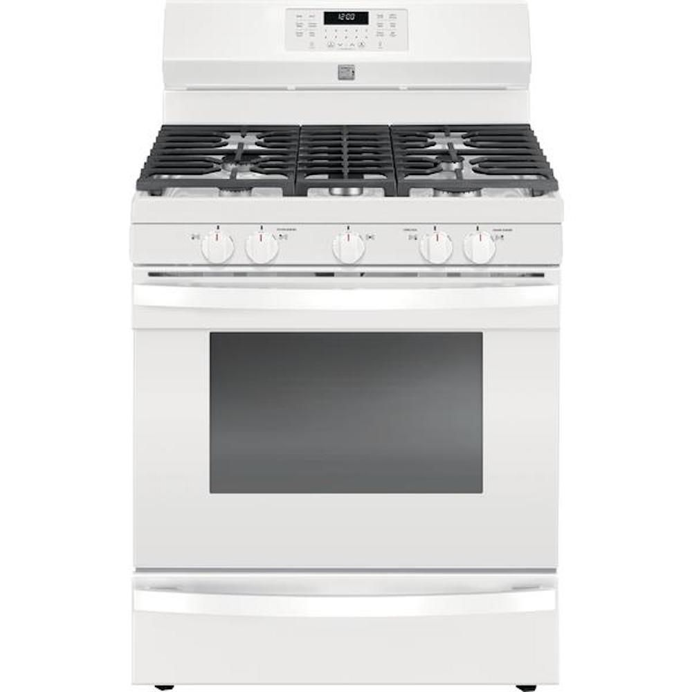 Kenmore Elite 74462 5.6 cu. ft. Gas Range with True Convection - White