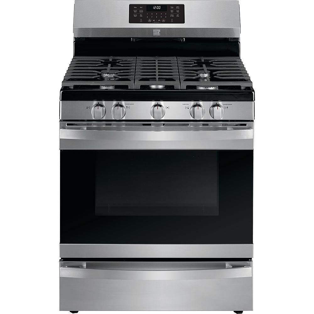Kenmore Elite 74463 5.6 cu. ft. Gas Range with True Convection - Stainless Steel
