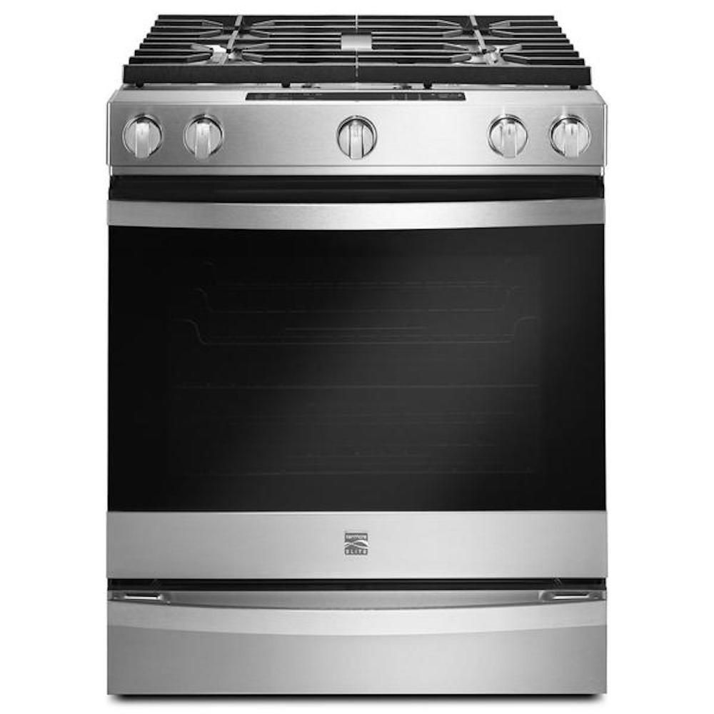 Kenmore Elite 75223 5.8 cu. ft. Gas Front-Control Range - Stainless Steel