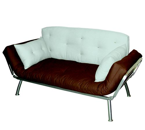 Elite Mali Flex Futon Combo with Seafoam and Plank Cushions ELITE PRODUCTS