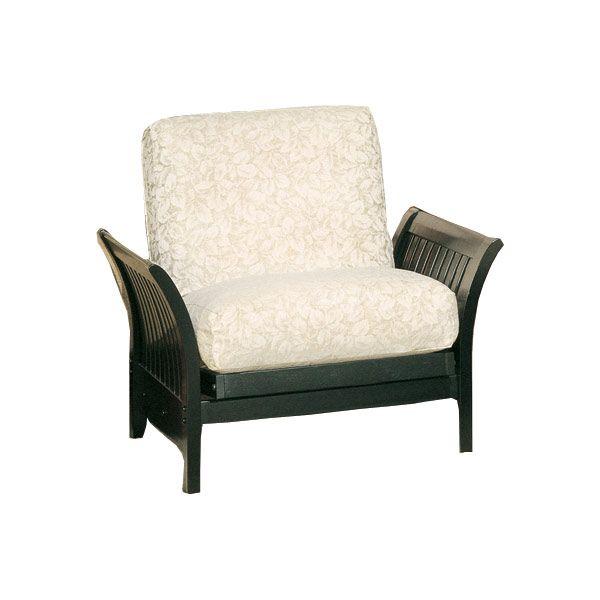Elite Florenzia Jr Twin Chair Black ELITE PRODUCTS