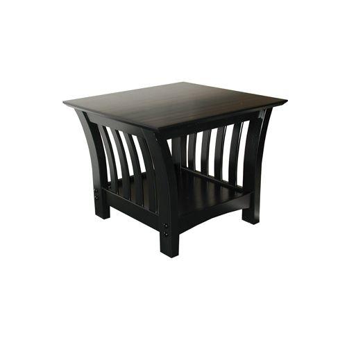 Elite Florenzia End Table Black ELITE PRODUCTS