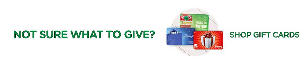 Not Sure What to Give? Shop Gift Cards