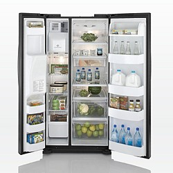 side by side refrigerator