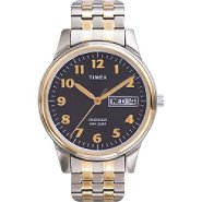 Timex Men's Dress Watch With Black Dial at Kmart.com