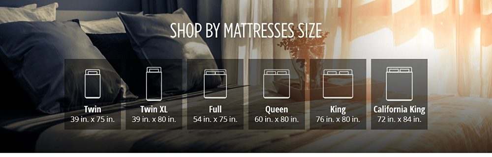 Shop by Mattresses Size