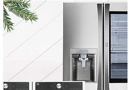 Up to 30% off appliances + extra 15% off + extra 10% off with sears card