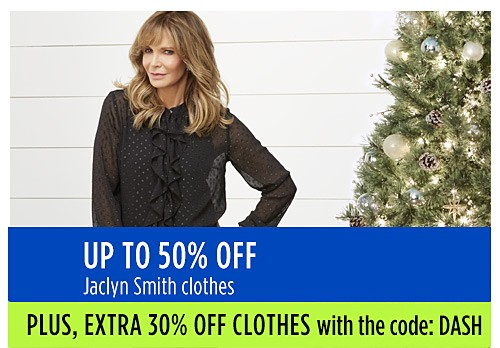Up to 50% off Jaclyn Smith clothes