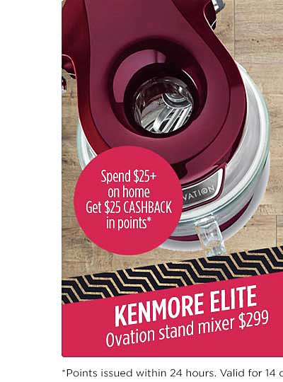 Kenmore Elite Ovation stand mixer ONLY $299