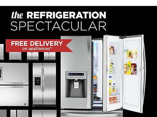 Save 40% or more on Refrigeration super buys