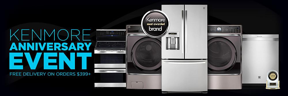 Kenmore Anniversary Event  30% off Kenmore Elite