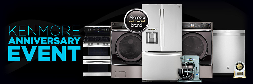 Kenmore Anniversary Event  30% off Kenmore Elite