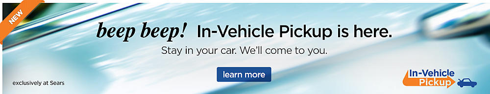 NEW! In-Vehicle Pickup