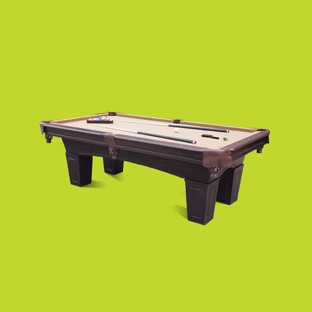 8' Crestmonet Billiard Table with Bonus Table Tennis