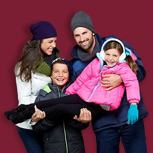 60% off outerwear for the family