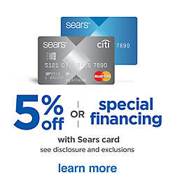 Get&#x20&#x3b;5&#x25&#x3b;&#x20&#x3b;off&#x20&#x3b;with&#x20&#x3b;Sears&#x20&#x3b;Card