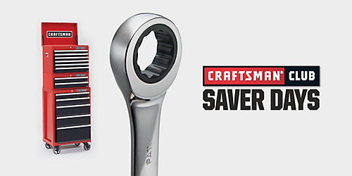 Craftsman&#x20&#x3b;Club&#x20&#x3b;Saver&#x20&#x3b;Days