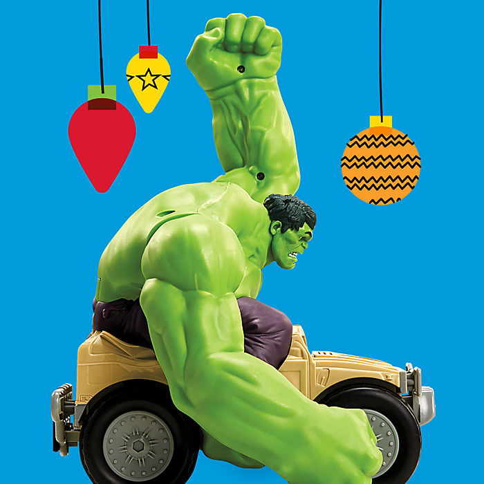 Hulk Smash RC Car