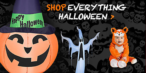Celebrate Halloween with up to 20% off