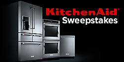 Enter for your chance to win an entire KitchenAid® appliance suite