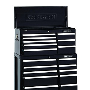 "Craftsman 40"" 16 drawer, 2 pc. Tool chest w/Griplatch dr."