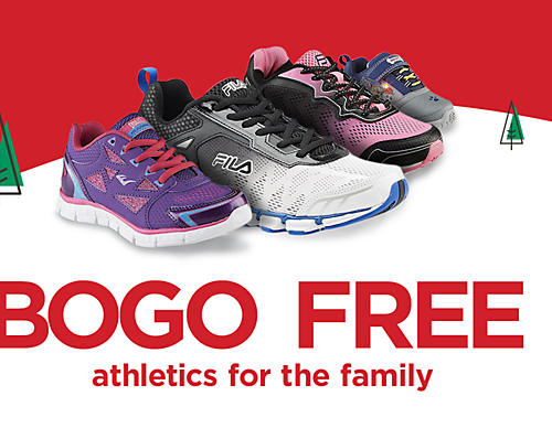 BOGO FREE men's athletic shoes