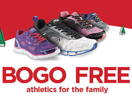 BOGO FREE Athletic shoes and sneakers for the family